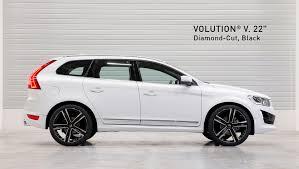 volvo xc60 black xc60 alloy wheels heico sportiv volvo tuning