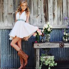 11 pictures that prove cowgirl boots and prom dresses can be a
