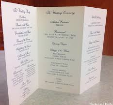 how to write a wedding program cheap wedding programs and place cards