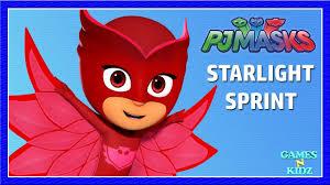 pj masks starlight sprint long gameplay video disney juinior