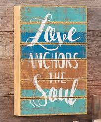 Love Anchors The Soul Wall - cast iron anchor wall hook zulily