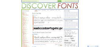 30 sites for fantastic free fonts u2014 sitepoint