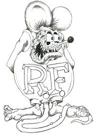 coloring page of a rat rat coloring page amindfulgeek com
