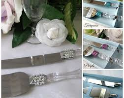 cake knife server etsy