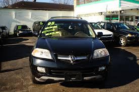 2005 acura mdx 4dr black suv used car sale