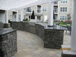 rustic outdoor kitchen designs cost of wood fence tags backyard fence airstone backsplash