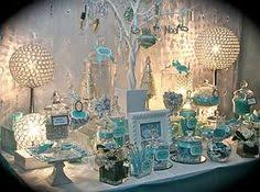 Tiffany Color Party Decorations I Crafted These Custom Glass Vase Centerpieces To Match Wedding Or