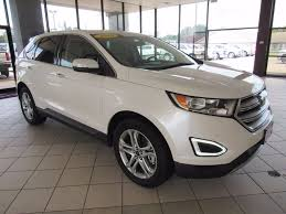 ford edge crossover 2016 used ford edge 4dr titanium awd at landers ford serving