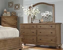 Light Colored Bedroom Furniture Trishley Dresser And Mirror Furniture Homestore