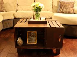 Diy Wood Crate Coffee Table by Landing On Love D I Y Crate Coffee Table