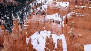 landscapes nature utah national park snowy wallpaper