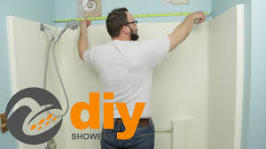 Bathtub Wall Kit Tub To Shower Remodel How To Measure For Your Onyx Shower Kit