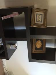 stunning shelving unit with modular wall also painted gallery