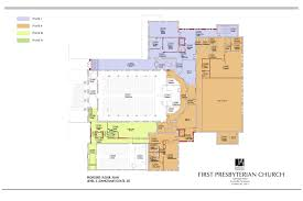 floor plans first presbyterian church