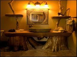 Galvanized Vanity Light The Redoubtable Rustic Bathroom Ideas Western Rustic Bathroom