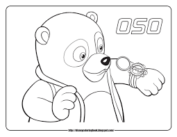 special agent oso 1 free disney coloring sheets learn to coloring