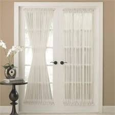 Patio Door Panel Curtains by Platinum Voile Flowing Sheer Side Light Curtain For The Home