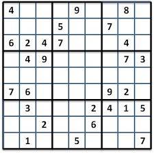 Favorito Sudoku e comunicação matemática - BLOG DE MATEMÁTICA RECREATIVA @OO14