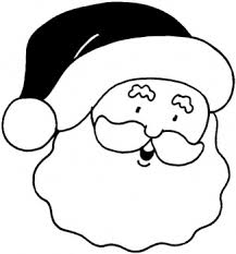 christmas santa face coloring pages coloring point coloring point