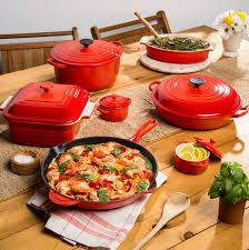 coral the newest summer shade from le creuset le creuset