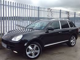 porsche cayenne blacked out porsche cayenne s 4 5 petrol lpg auto black turbo s in