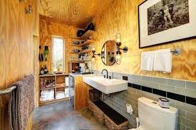 rustic industrial bathroom interior tiny house plans tiny industrial rustic decor marvelous small cabin decoration for