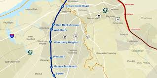 Patco Map Commentary Proposed Light Rail Line Is Inferior Option