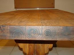 Redwood Dining Table Table Rustic Dining Table Live Edge Woods Large Curly Redwood