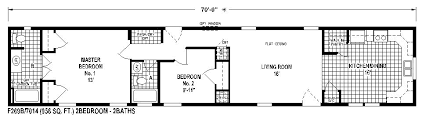 Single Wide Manufactured Homes Floor Plans | 10 great manufactured home floor plans mobile home living