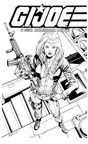 robert atkins art gi joe con convention commission pre orders