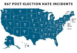 Oregon And Washington Map by Splc Two Northwest States In Top 10 List Of Post Election