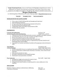 Free Download Sales Marketing Resume 100 Business Resume Summary Examples Business Development