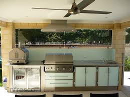 kitchen furniture adelaide glass splashback infresco outdoor and alfresco kitchens perth