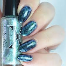 blue nail polish baroness x