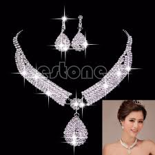 necklace earring bracelet set images Women luxury wedding prom bridal jewelry sets african beads jpg