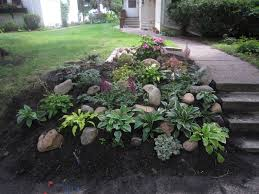 Gardening With Rocks by Landscaping With Rocks On A Hill Design And Ideas