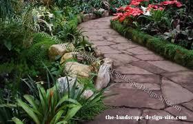 flagstone garden path design ideas