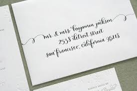 calligraphy invitations erik s winter snowflake wedding invitations