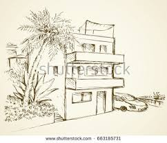 old style drawing palms download free vector art stock graphics