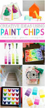 13 creative paint chip craft projects paint chips craft