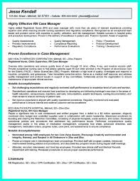 Risk Management Resume Samples by Inspiring Case Manager Resume To Be Successful In Gaining New Job