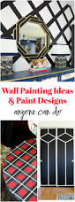 Accent Wall Patterns by Wall Painting Ideas And Paint Designs