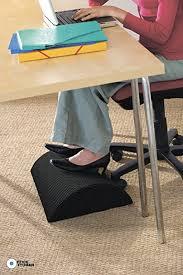 amazon com foot rest under desk non slip ergonomic foam cushion