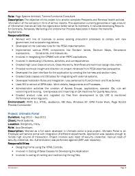 Sample Resume Usa by Pega Sample Resume Pega Cssa Resumes