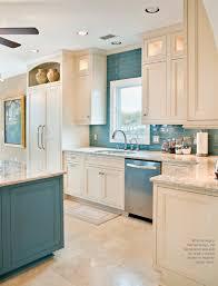 medium light large neutral floor tile accent pop of color paint