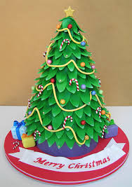 Extra Large Christmas Decorations by 15 Christmas Tree Cakes U0026 Bakes