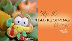 saturday spotlight top 10 thanksgiving cookies cookie connection