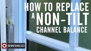 Peachtree Window Parts by How To Replace A Non Tilt Window Channel Balance Youtube
