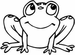 frog log coloring