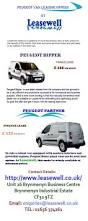 peugeot leasing uk 22 best www leasewell co uk images on pinterest vans vehicles